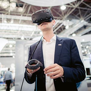 KNAUS Messe-Interviews: Der LIFESTYLE als Virtual-Reality-Show
