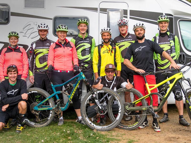 Das mein.KNAUS-Event im Vinschgau: Mit CANNONDALE auf Bike-Tour | Etappe 1