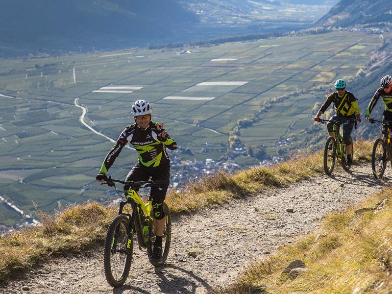Das mein.KNAUS-Event im Vinschgau: Downhill mit Cannondale | Etappe 2