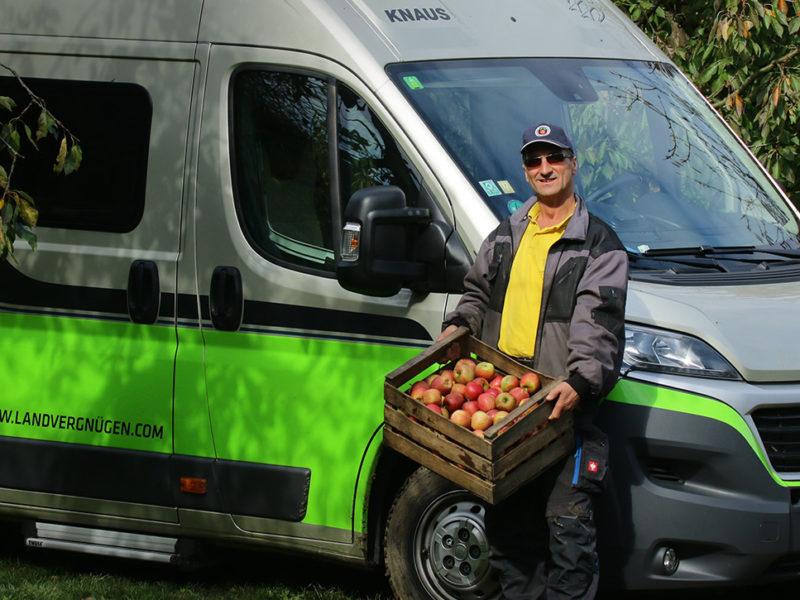 Unterwegs mit Landvergnügen: Auf ins Apfelparadies!