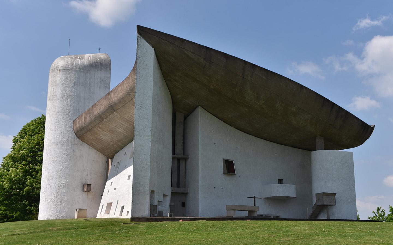 """Kapelle """"Notre-Dame-du-Haut"""" (Ronchamp)"""