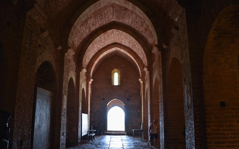 Basilika in Brancion