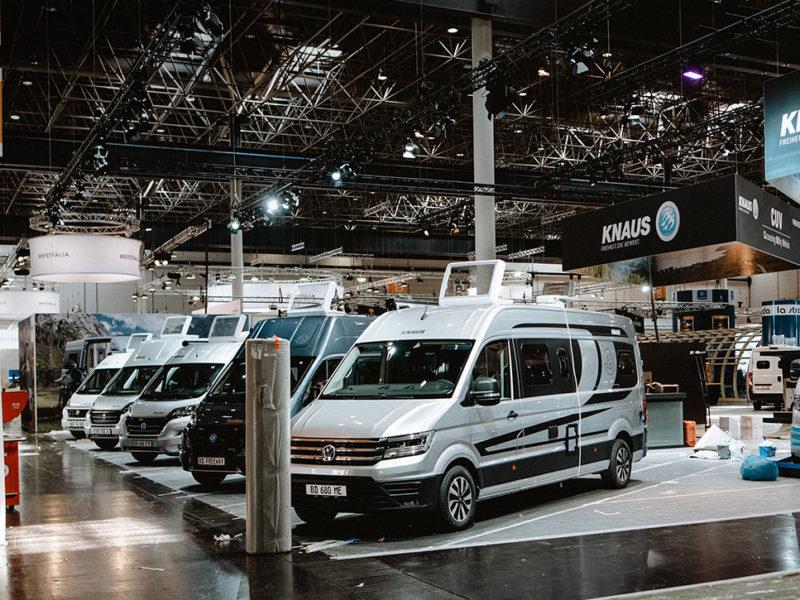 KNAUS am Caravan Salon Düsseldorf: Schaffe, schaffe, Halle baue!