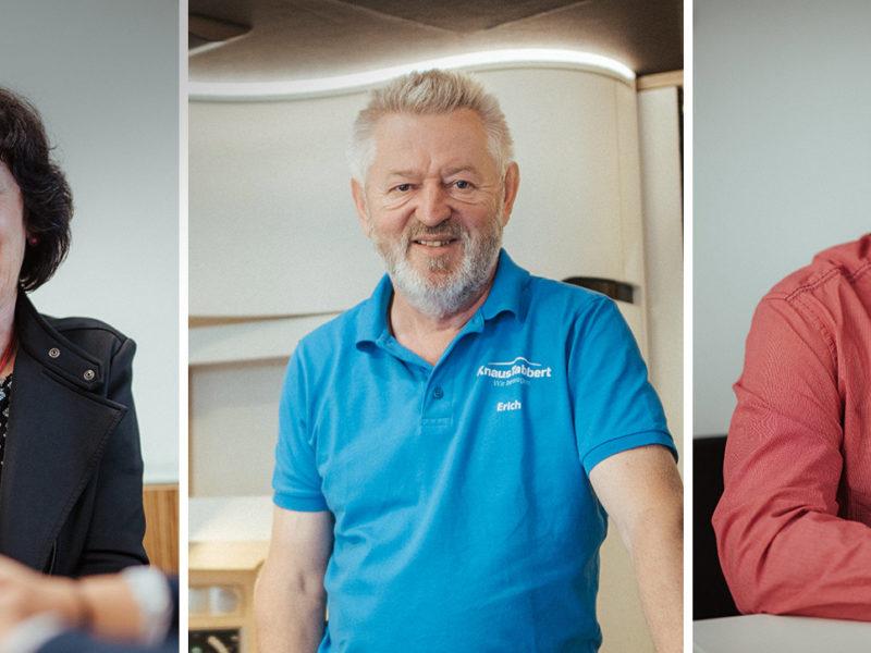 30 Jahre KNAUS Reisemobile: Unsere Mitarbeiter erinnern sich