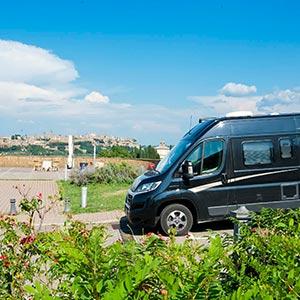 Der KNAUS BOXSTAR unterwegs in der südöstlichen Toskana