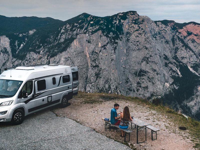 Überall zu Hause: Mit dem KNAUS BOXSTAR durch Österreich und Slowenien