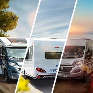 Reisemobil, Wohnwagen, CUV: Das passende Campingfahrzeug für Sie