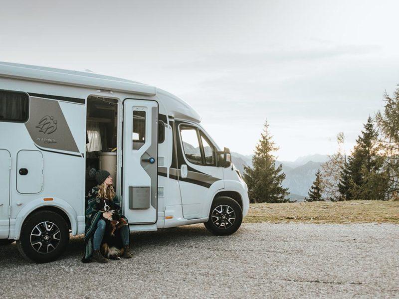 Mit Hund, Charme und VAN TI: Campingtour in die Dolomiten
