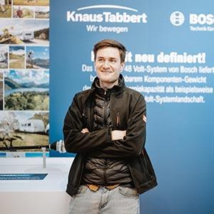 Der große Organisator: Messebauer Christian Scheuffele im CMT-Interview