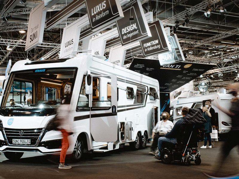 KNAUS 2020: Der mit Abstand schönste Caravan Salon!